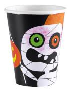 8 Becher Halloween Kids 266 ml