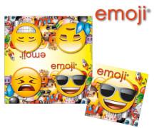 emoji® Servietten, ca. 33 x 33 cm, 20 Stück