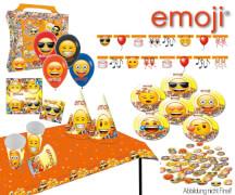 emoji® Partykoffer, 45-teilig