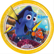 Disney Findet Dorie Pappteller ca. 23cm, 8 Stück
