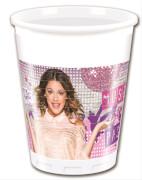 Disney Violetta Plastikbecher 200 ml, 8 Stück