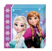 Disney Frozen - Die Eiskönigin Servietten 20 Stück, ca. 33 x 33 cm