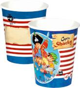 Partybecher Capt'n Sharky (8 St.)