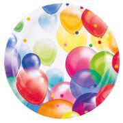 8 Teller Balloons 23 cm