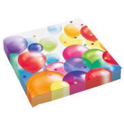 20 Servietten Balloons 33 cm