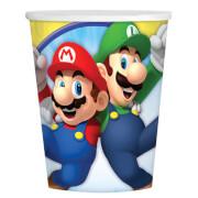 8 Becher Super Mario 266ml