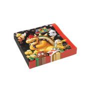 20 Servietten Super Mario, 2-lagig, 33 x 33 cm
