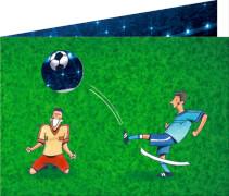 Die Spiegelburg - Einladungskarten Fußball, 8 Stück