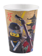 8 Becher Lego Ninjago, 250ml