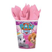 8 Becher Pink Paw Patrol USA 266 ml