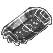 8 Pommesschale Kicker Party 17,5 x 10 cm