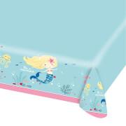 Tischdecke aus Papier Be a Mermaid 120x180cm