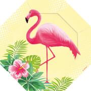 6 Formteller Flamingo Paradise 18cm