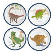 8 Teller Happy Dinosaur 23cm