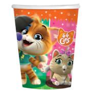 8 Becher 44 Cats 250 ml