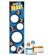 Party-Spiel Nerf Papier 25-teilig 50 x 164 cm