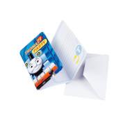 6 Einladungskarten Thomas & Friends mit Umschlägen