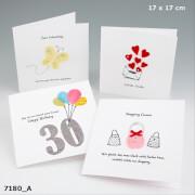 Depesche 7180 Handmade Art Klappkarten