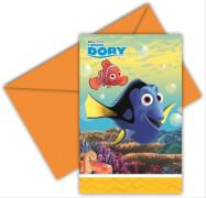 Disney Findet Dorie Einladungskarten & Umschläge 6 Stück