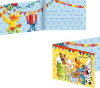 Die Spiegelburg - Einladungskarten Die Lieben Sieben, 8 Stück