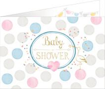 Die Spiegelburg - Einladungskarten Baby Shower, 8 Stück