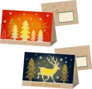 Die Spiegelburg 314410 Zeit für Wünsche Weihnachtslicht-Karte, ca. 15x10 cm, sortiert