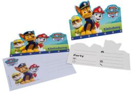 Einladungskarten Paw Patrol A6 + Umsch