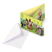 8 Einladungskarten & UmschlägeDer kleine Maulwurf