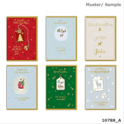 Depesche 10788 Weihnachts-Klappkarten, Schöne Weihnacht