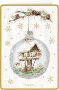 3D-Weihnachtskarten mit Kuvert: Zauberhafte Weihnacht Bastin,sortiert nicht frei wählbar