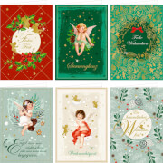 Weihnachtskarten mit Kuvert, sortiert (Weihnachtswunder)