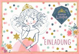 Einladungskarten Pr. Lillifee - Einladung (10 Ex.sortiert&Um.)