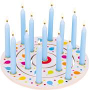 Geburtstagskranz Luftballons, 3 teilig, # 21 cm