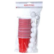 Beer Pong mit 15 Bällen, Trinkspiel