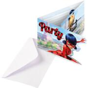 Miraculous Einladungskarten&Umschläge 8 St.