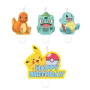 4 Kerzen Pokemon