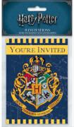 Harry Potter Einladungskarten 8 Stück