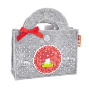 Depesche 5948 Geschenktaschen aus Filz mit Musik