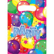 6 Partytüten Ballon Party 2