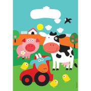 8 Partytüten Farm Fun