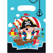 8 Partytüten Pirat