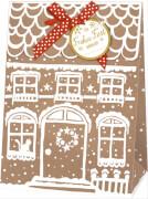 Geschenktüte - Weihnachtshaus