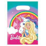 8 Partytüten Barbie - Dreamtopia