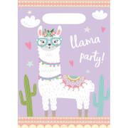8 Partytüten Llama