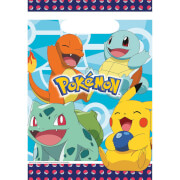 8 Partytüten Pokemon Plastik
