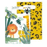 8 Papiertüten Get Wild Papier 23,2 x 16,3 cm