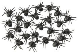 Kleine Spinnen, 4cm (24 Stk. im Btl.) or