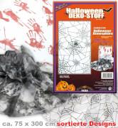 FRIES - Dekostoff Halloween, sort. Designs, 75 x 300 cm