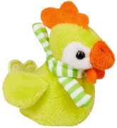 Bunte Hühner Fröhliche Ostern, sortiert