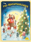 Pixi Adventskalender mit Weihnachtsbaum 2018: mit großem, aufstellbarem Weihnachtsbaum und 24 Mini-Pixi zum Vorlesen und Aufhäng